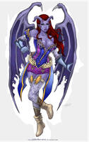 Comision:Mistress Shala Jarias by johnbecaro