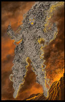 Commission: PYROCLASTIC by johnbecaro