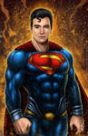 Superman colored by johnbecaro