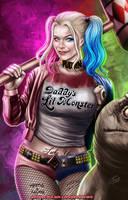 Harley Quinn by johnbecaro