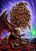 Epic Dragon v2 colored by johnbecaro
