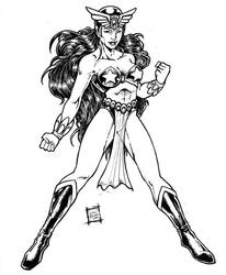 Mars Ravelo's Darna by johnbecaro