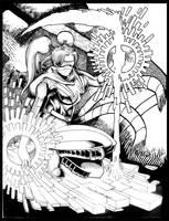 Commission: Turbo Ski by johnbecaro