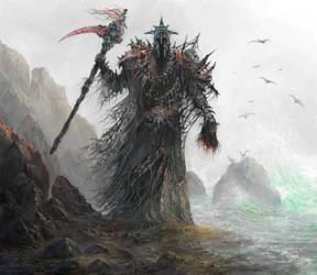 Boneskin Knight by yonaz