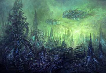 Planet Isrrlkpryrilkion by yonaz