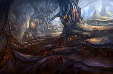 Alien City by yonaz