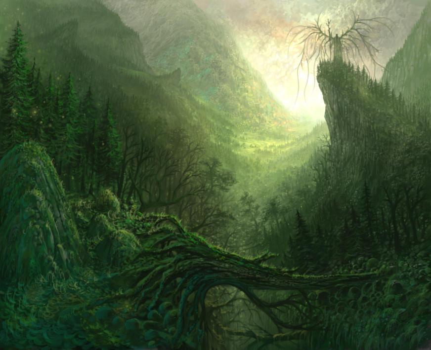 Forrest god by yonaz