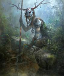 Warrior by yonaz