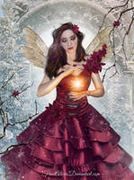 Christmas Fairy by FrostAlexis