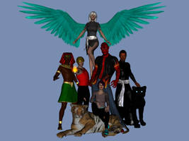 Ultra Crew by Silver-Tiamat