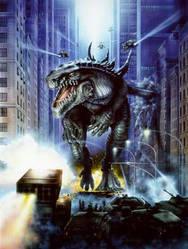 Godzilla 1998 by tehleggyfan