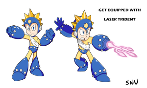 Get Equipped With Laser Trident by SegaNintendoUbisoft