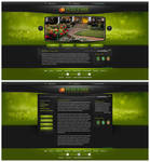 Full Care site design concept2 by Stephen-Coelho
