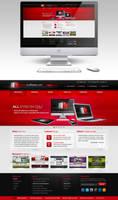 Media Marketers website redesign by Stephen-Coelho