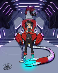 Voltron: Red Lion by Smooth-Criminal-13