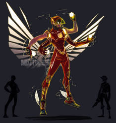 Scout+Flash Fusion by DarkLitria