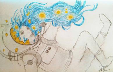 The stars in her hair by SarahSmithWalker