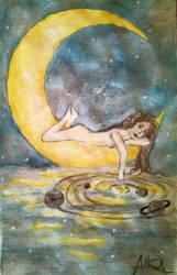 Over the moon by SarahSmithWalker