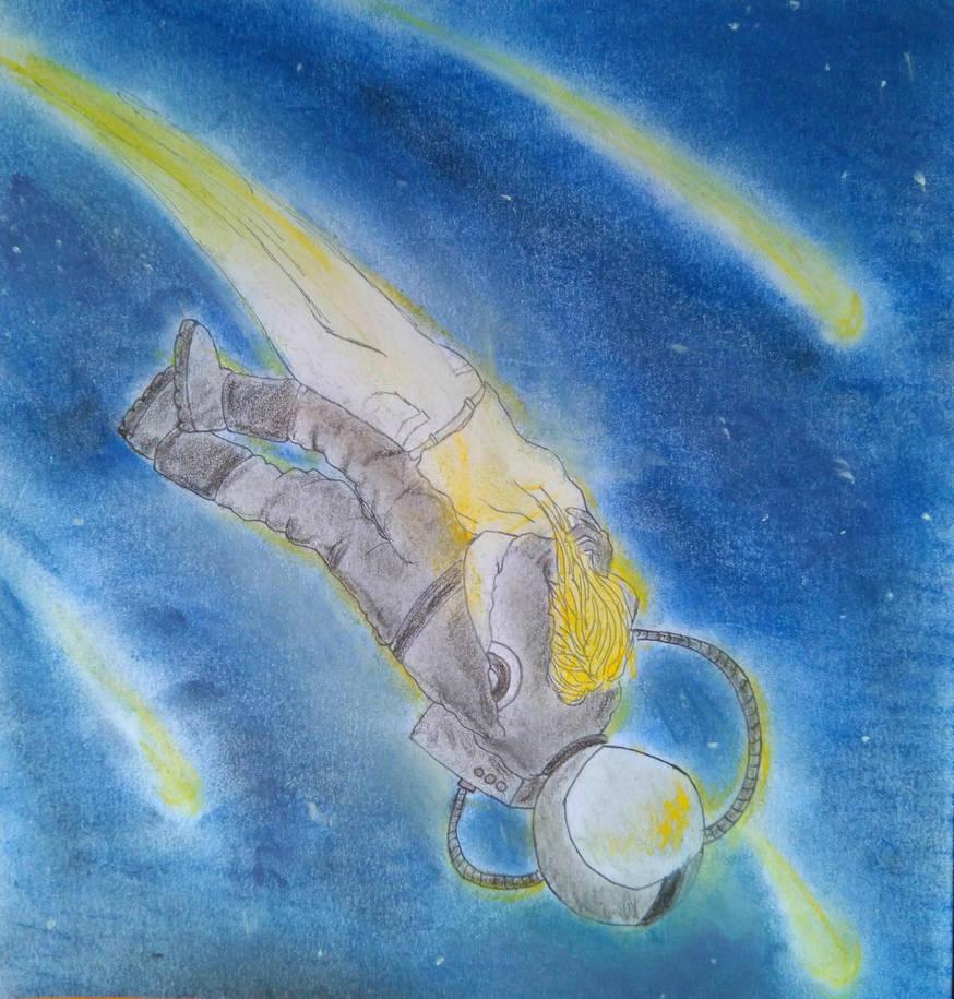 Look, a shooting star by SarahSmithWalker