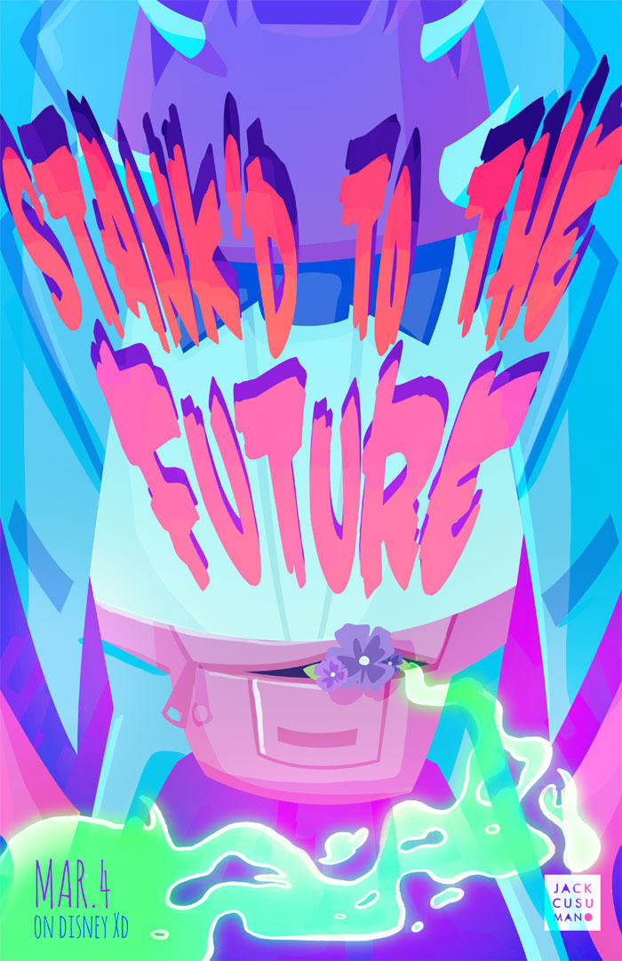 Stank'd To The Future by jackiecous
