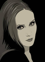 Simone Simons by VampireSybelle