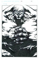 JIMBO'S HULK SMASH INKED by FanBoy67
