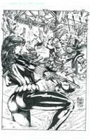 ABREUS BLACK WIDOW v CAP INKED by FanBoy67