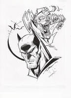 STEVEN SANCHEZ'S BATMAN-JOKER INKS by FanBoy67