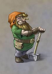 Forge Dwarf by Manin