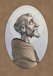 Divine Comedy - San Bernardo de Claraval by Manin