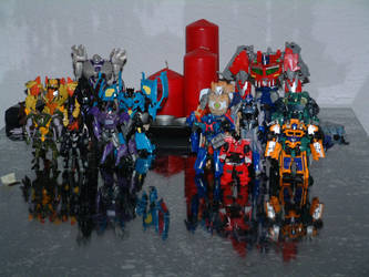 Mine Transformers Prime collection. by pessie83