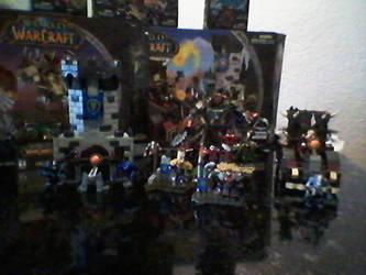 Mine World of Warcraft Megabloks collection. by pessie83