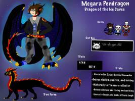 Undertale OC: Megara Pendragon of the Ice Caves by BlackDragon-Studios