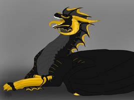 Racorzians: Ignis-Yawn by BlackDragon-Studios