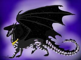 Wings of Fire: Shadowsneak the Sea/NightWing by BlackDragon-Studios