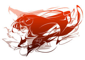 Sailor Mars by Paddy-F