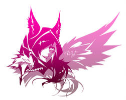 League of Legends - Xayah by Paddy-F