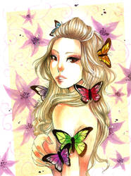 Mirrorcle Butterflies by utenaxchan