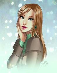 Commission : Lora by utenaxchan