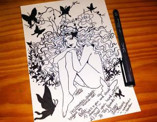 Pen/Marker challenge by utenaxchan