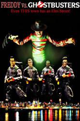 Freddy Vs. Ghostbusters 'EDIT' by Police-Box-Traveler