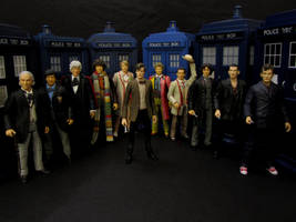 The 11 Doctors By Character Options by Police-Box-Traveler