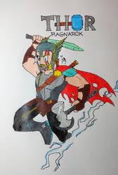 Thor Ragnarok by streak663