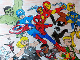 Marvel Universe by streak663
