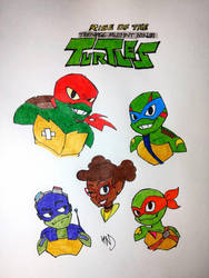Rise of the Teenage Mutant Ninja Turtles by streak663