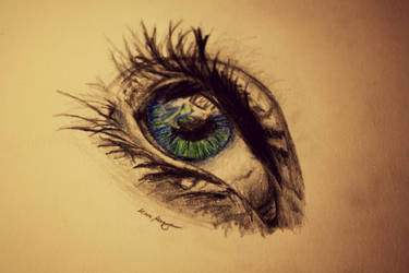 Colored Eye by LucaHennig