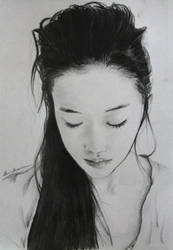 Yu Aoi - Portrait by LucaHennig
