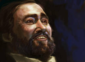 Pavarotti by ELIANT