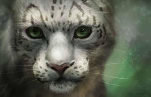 leopardo de las nieves by ELIANT