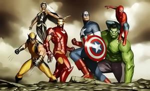 Avengers by Aspersio